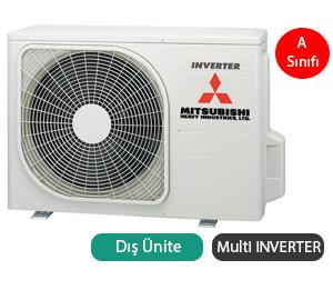 Mitsubishi Heavy SCM100ZM-S Multi Inverter Dış Ünite A Enerji Sınıfı 34.000 BTU/h Inverter Klima