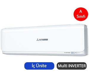 Mitsubishi Heavy SRK25ZSX-S Multi Inverter Duvar Tipi İç Ünite A Enerji Sınıfı 9.000 BTU/h Inverter Klima